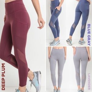 High Rise Yoga Pants with Pockets for IPhone # 4